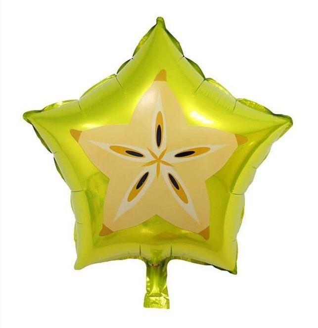 Balão Metalizado - Carambola - 45cm