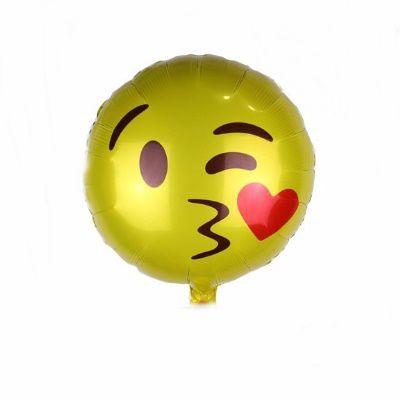 Balão Metalizado - Emoji III - 20 polegadas