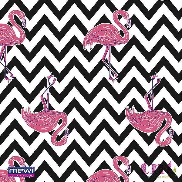 TNT Estampado - flamingo chevron - 01 Metro