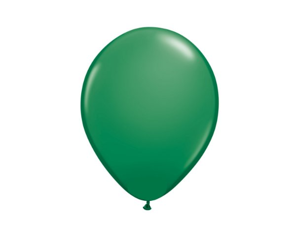 Balão Redondo Látex N° 8 - Verde - Art Latex