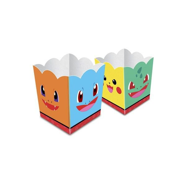 Cachepot Pocket Monster - Pokemon - 16 unidades