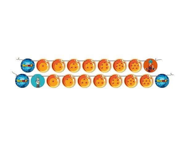 Faixa Feliz Aniversário - Dragon Ball