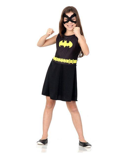 Fantasia Infantil Batgirl -  M