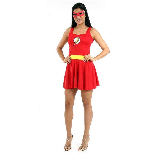 Fantasia - The Flash Verão Adulto - M