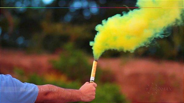 Bastão de Fumaça - Amarelo