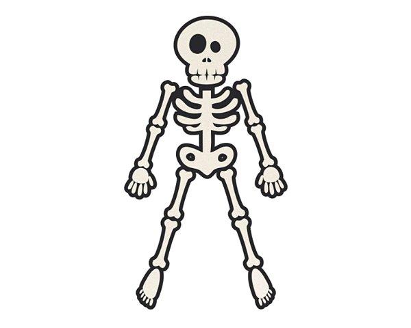 Painel Decorativo EVA - Esqueleto