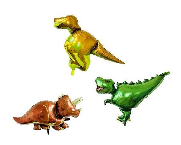 Balões Metalizados - Dinossauros