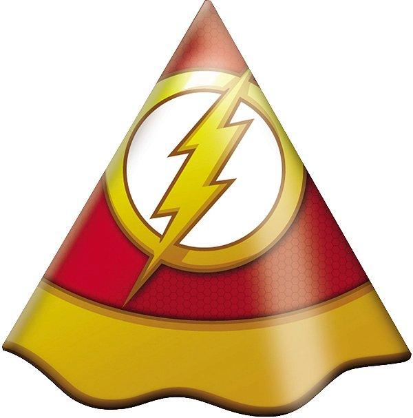 Chapéu de Aniversário -  Flash - 08 unidades