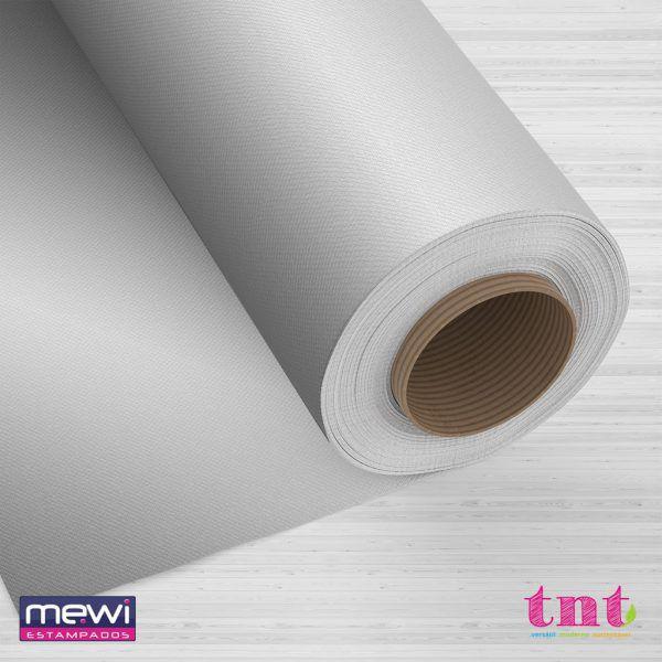 TNT Metalizado Laminado - Prata - 05 Metros