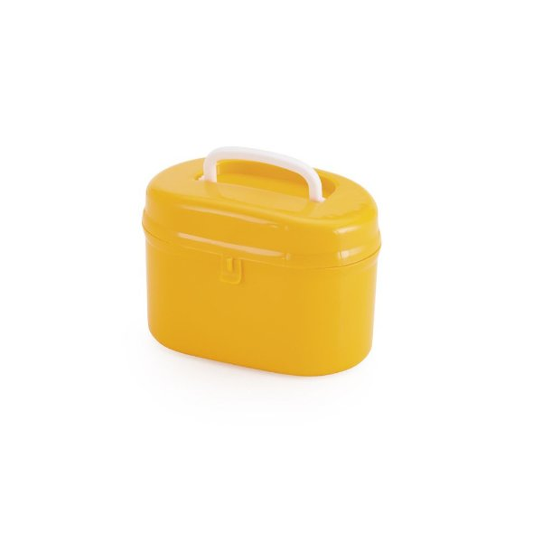 Mini Maleta Baú -  Amarelo