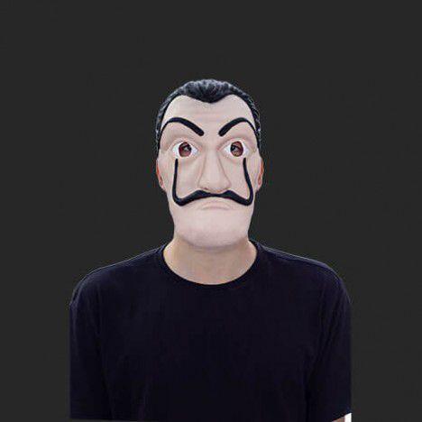 Máscara Latéx Halloween - La Casa de Papel