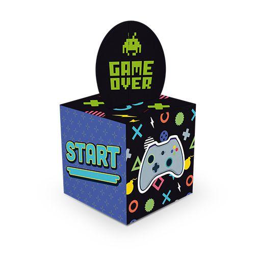 Caixa para Lembrancinhas - Vídeo Game - 08 Unidade