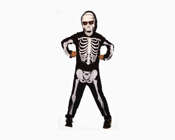 Fantasia Infantil - Esqueleto - M
