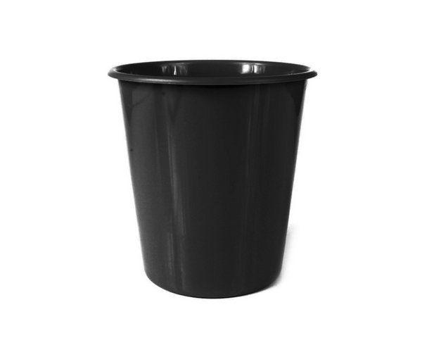 Balde Plástico de Pipoca - Preto - 01 litro - 50 unidades