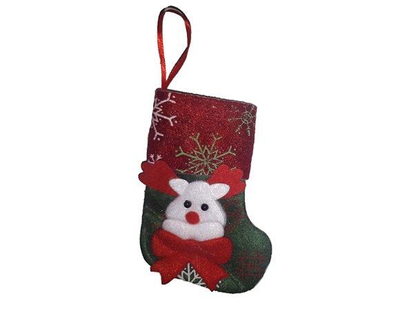 Enfeite Decorativo - Meia de natal 1