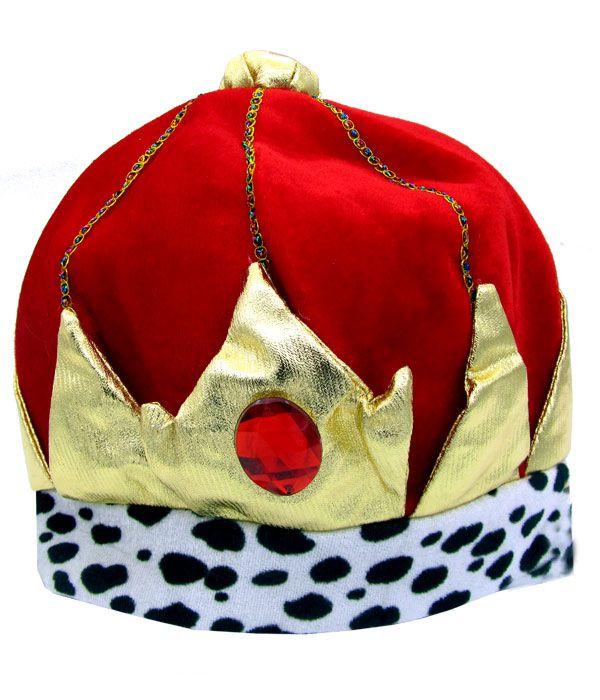 Chapéu Rei - Vermelho