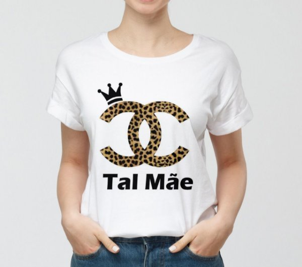 Camisa Personalizada - Tal Mãe