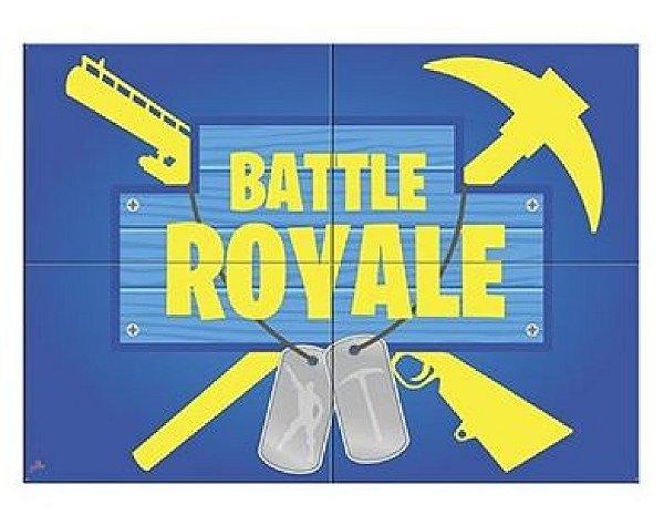 Painel Gigante 4 Partes - Battle Royale