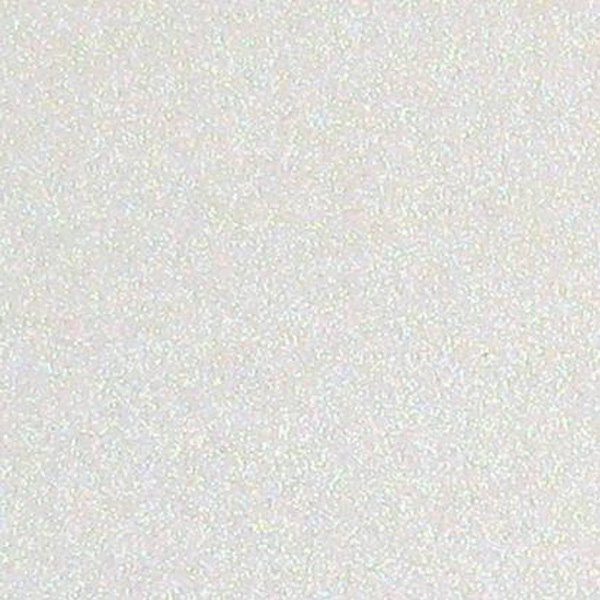 Placa Eva Glitter - Branco