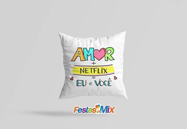 Almofada  Dia dos Namorados Netflix - 30x30