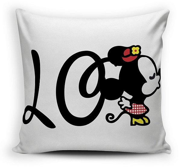 2 Almofadas  55 x 55-  Love Mickey e Minnie