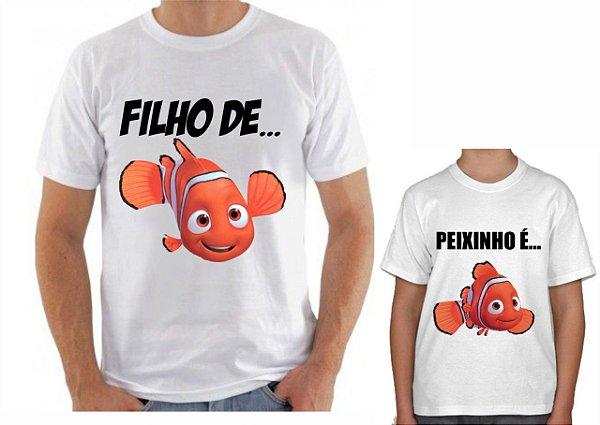 Kit Camisa Tal Pai x Tal Filho -Neno