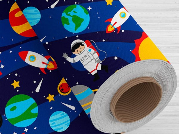 Tnt Estampado - Astronauta- 5 metros