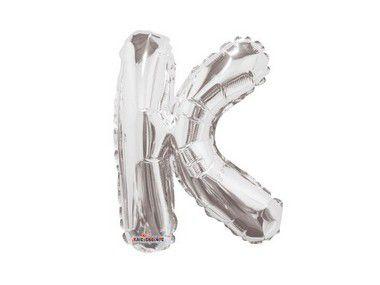 Balão Metalizado 33 cm - Letra K