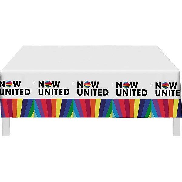 Toalha de mesa Descartável Now United -Festcolor