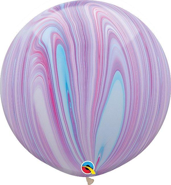 Balão Latex 3 Pés - Supergate - Tie Day
