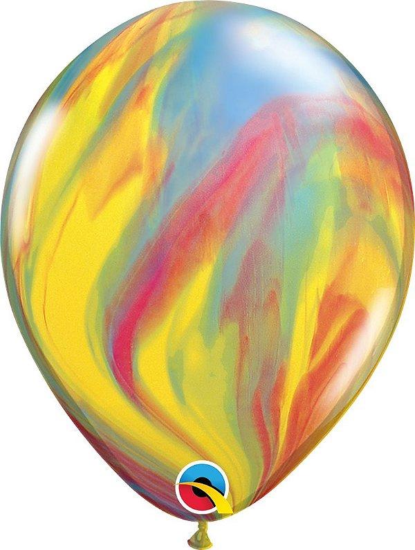 Balão Latex 11 polegadas- Supergate - Tie Day - unidade
