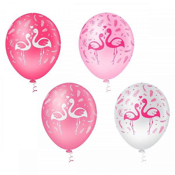 Balão N° 10- Flamingo - 25 unidades