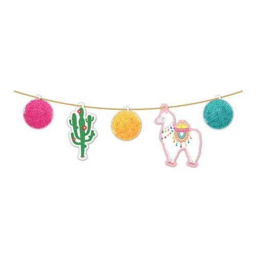 Faixa Decorativa - Festa Lhama