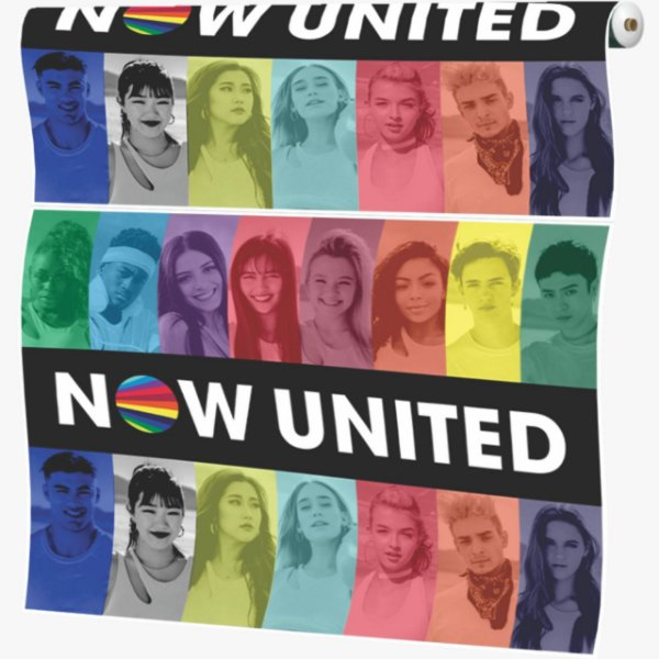 Painel de Festa 1 x 1.40 Grande TNT - Now United