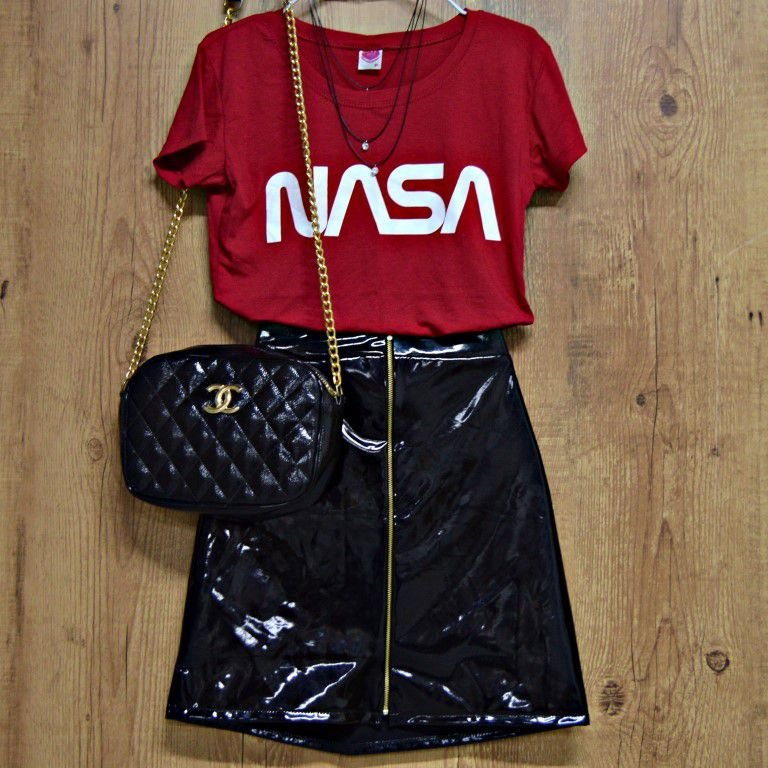 T-shirt Camiseta Estampada Nasa