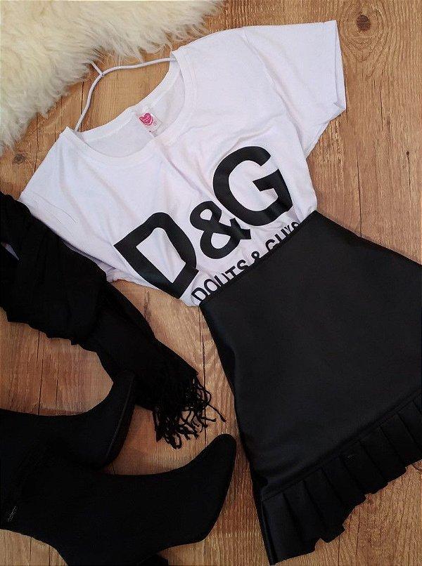 T-shirt Camiseta D&G