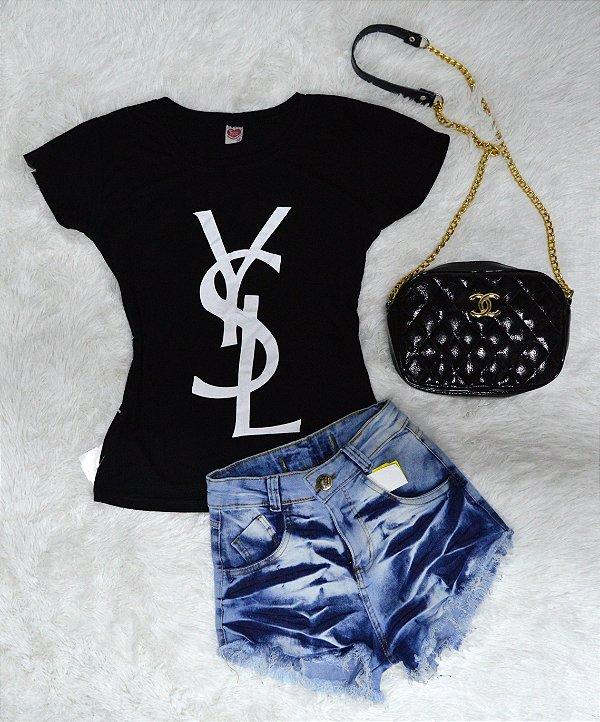 T-Shirt Camiseta YSL Saint Laurent