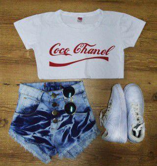 T-Shirt Camiseta Coco Chanel