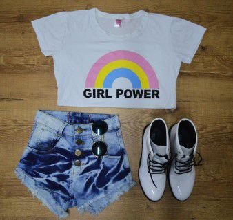 T-Shirt Camiseta Girl Power