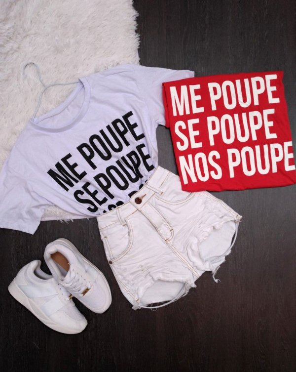 Camiseta Me Poupe Se Poupe Nos Poupe Lojas Mayara Compre No Site