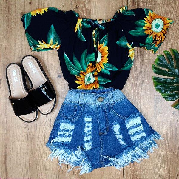 Ciganinha Girassol com Amarra