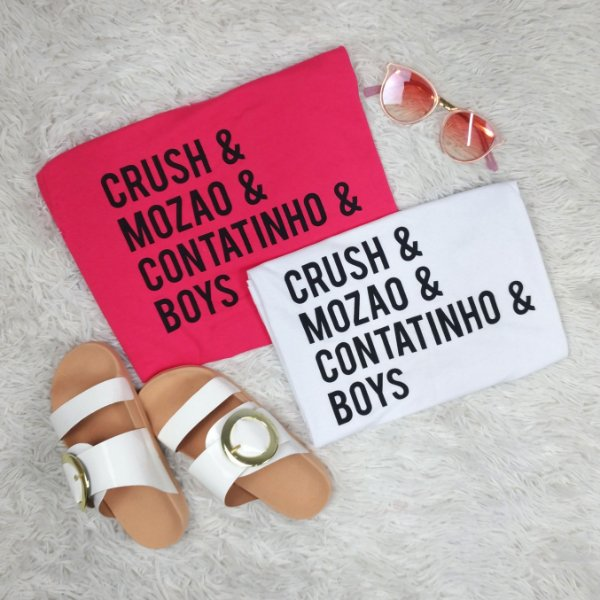 T-Shirt CRUSH E MOZAO BOYS