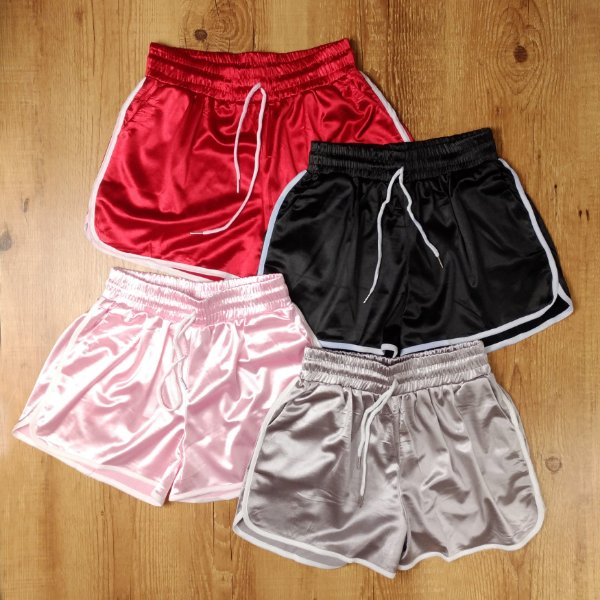 Shorts Acetinado
