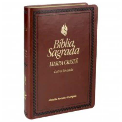 Bíblia sagrada Letra Grande harpa cristã