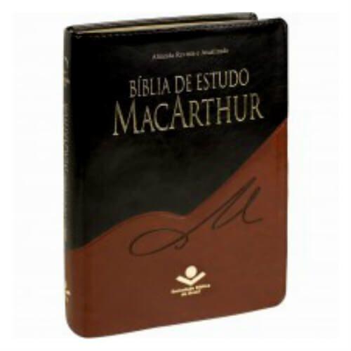 Bíblia de Estudo Macarthur - ARA - preto/marrom