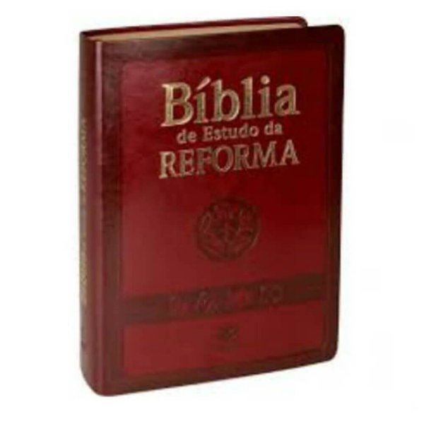 Bíblia de Estudo da Reforma / Almeida Revista e Atualizada / Vinho / SBB