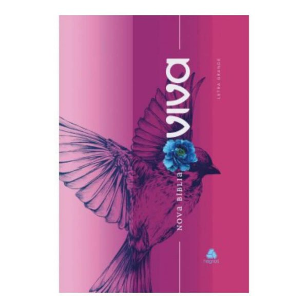 Nova Bíblia Viva / liberdade / capa dura borda azul / Letra grande / Editora Hagnos