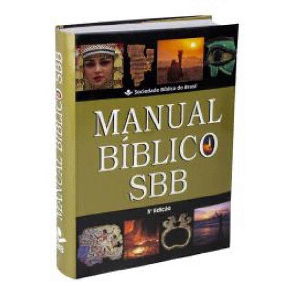 Manual Bíblico / Capa semiflexível / 3ª Edição / SBB