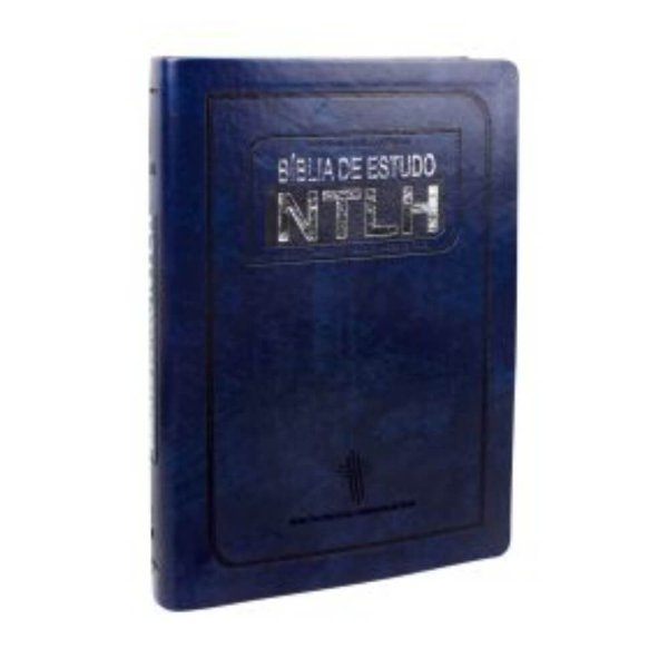 Bíblia de Estudo NTLH - Azul Nobre / Tamanho grande / SBB