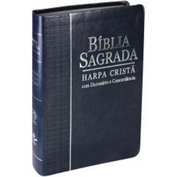 Bíblia Sagrada Letra Grande, Edição com Letras Vermelhas, Concordância, Dicionário e Harpa Cristã/ ARC /sbb